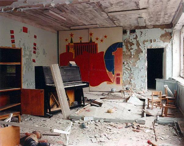Дом в Чернобыле бросившего людьми фото