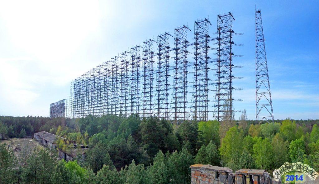 радиолокационная станция Дуга в Чернобыле