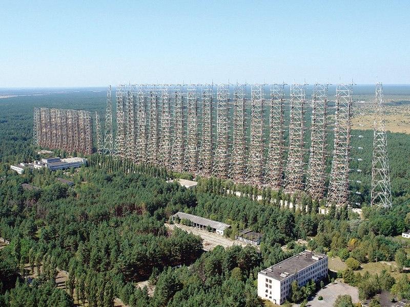 ЗГРЛС Дуга. Чернобыль 2