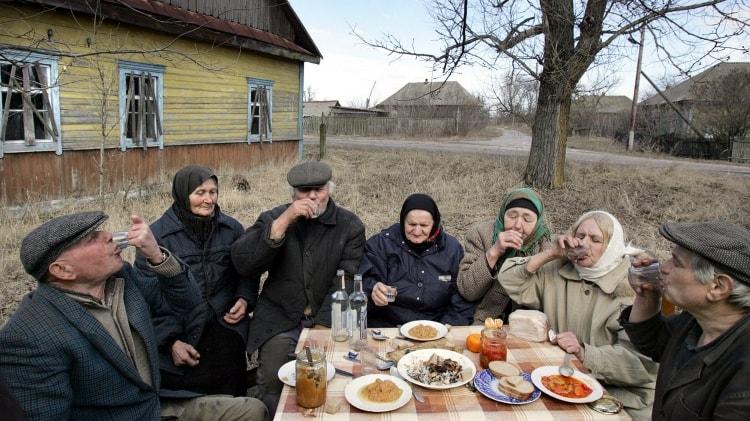 Население Припяти