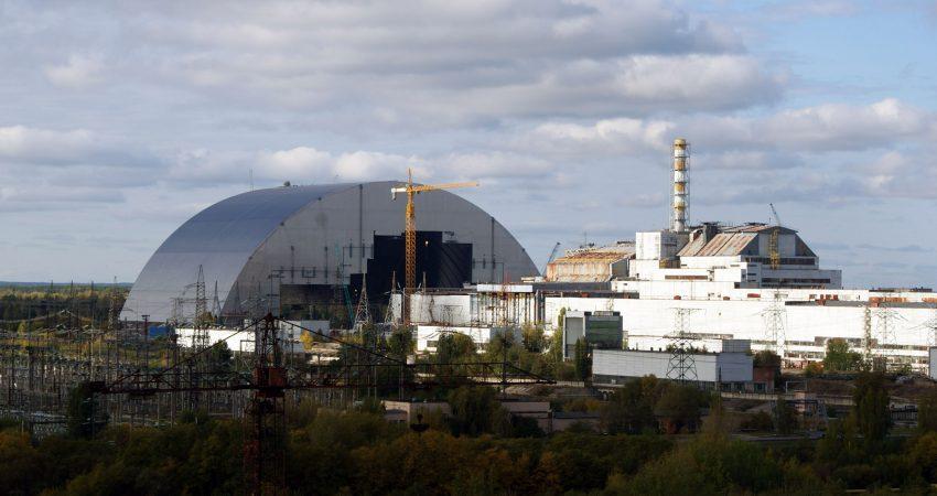 Объект Укрытие ЧАЭС. Саркофаг Чернобыльской АЭС