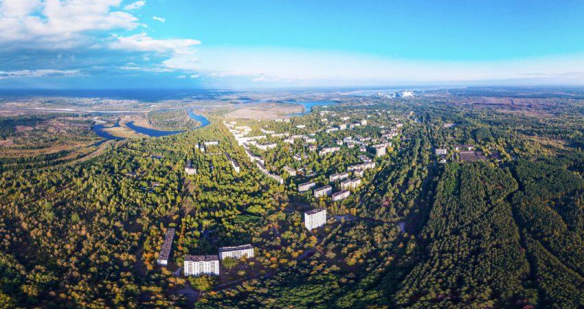 Панорама Припяти на 360 °