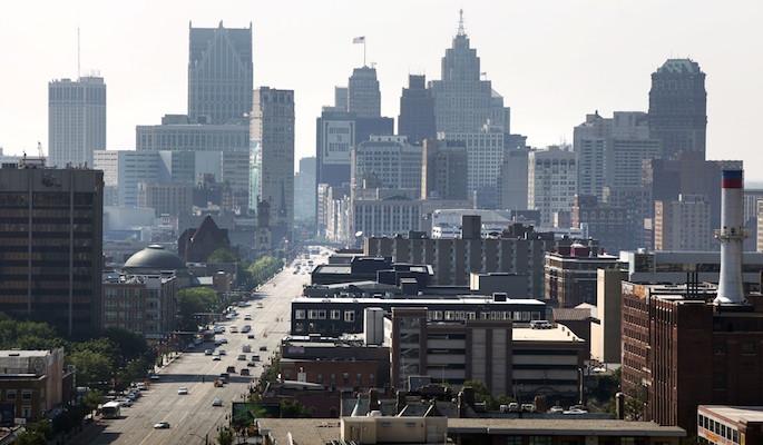 Город призрак Детройт