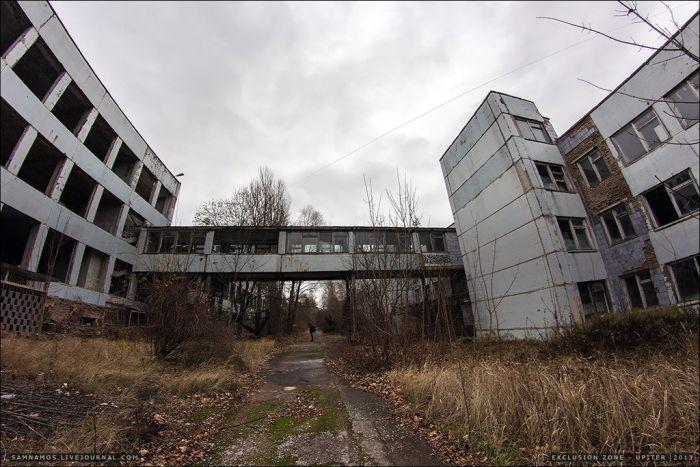 На заводе «Юпитер» в Припяти